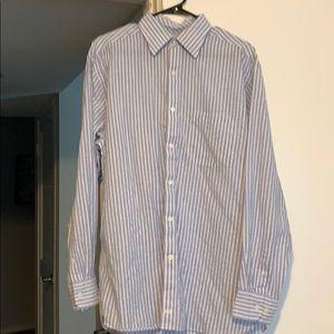 Johnston & Murphy Blue Dress Shirt